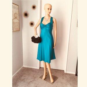 Calvin Klein Teal Dress
